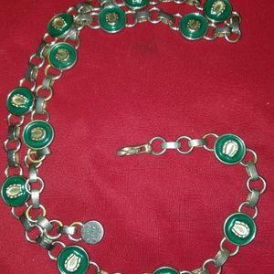Gucci Vintage Chain Belt